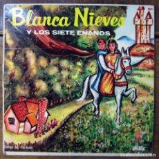 Discos de vinilo: BLANCA NIEVES Y LOS SIETE ENANOS - NARRACIÓN INFANTIL - PUERTO RICO - BLANCANIEVES, ENANITOS -. Lote 194210698