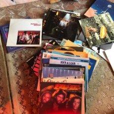 Discos de vinilo: LOTE DE 98 LPS Y 75 SINGLES. Lote 194210811