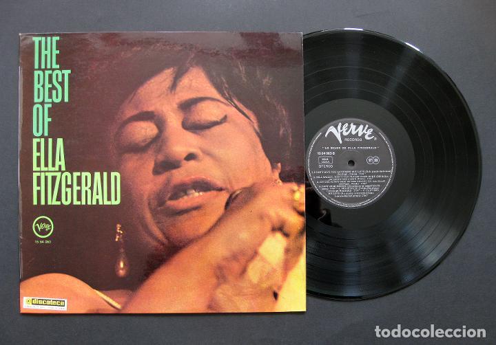 ELLA FITZGERALD - THE BEST OF ELLA FITZGERALD - VINILO ESPAÑA 1970 (Música - Discos - LP Vinilo - Jazz, Jazz-Rock, Blues y R&B)