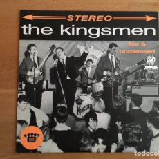 Discos de vinilo: THE KINGSMEN: LIVE & UNRELEASED. Lote 194214061