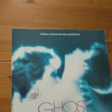 Discos de vinilo: LP GHOST. ORIGINAL MOTION PICTURE SOUNDTRACK - MUSIC COMPOSED AND CONDUCTED BY MAURICE JARRE. Lote 194215105