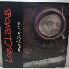 Discos de vinilo: LOS CLAVOS, REVOLUTION N° 10 (ROMILAR-D 1991) INSERTO. Lote 194216558
