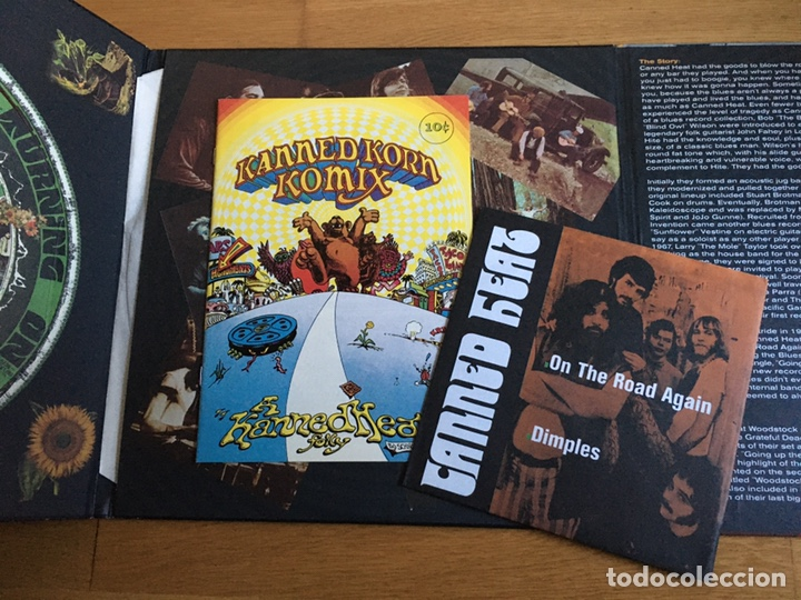 """Discos de vinilo: CANNED HEAT: FAR OUT (2 LPS + EP 7"""" + CÓMIC) - Foto 4 - 194217511"""