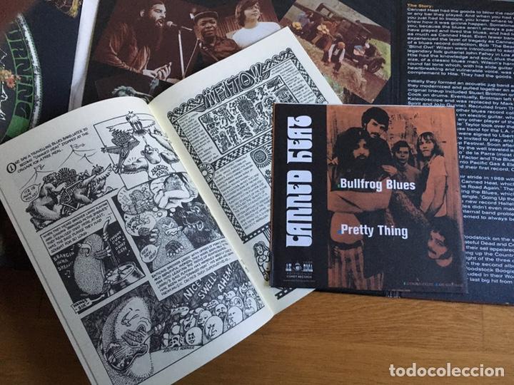 """Discos de vinilo: CANNED HEAT: FAR OUT (2 LPS + EP 7"""" + CÓMIC) - Foto 5 - 194217511"""