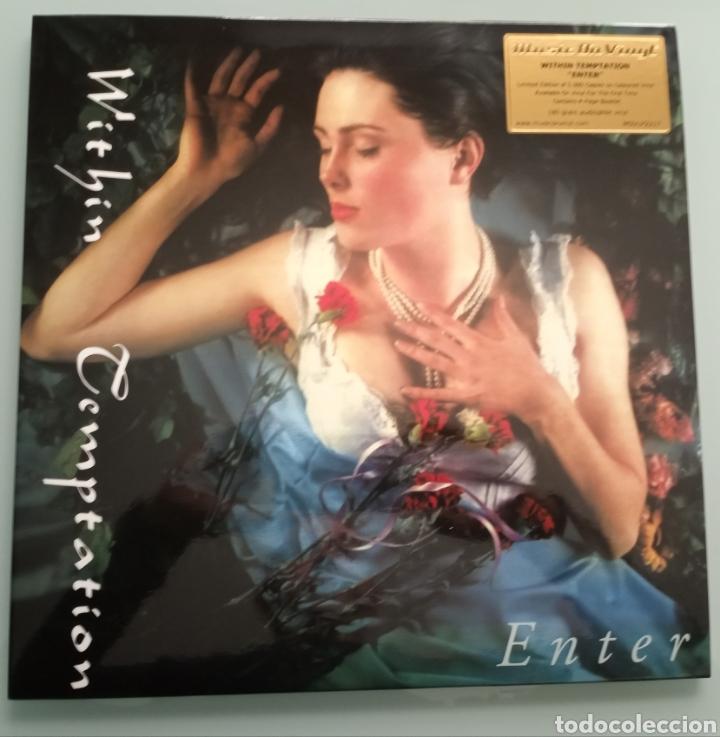 WITHIN TEMPTATION - ENTER - VINILO (Música - Discos - LP Vinilo - Pop - Rock Extranjero de los 90 a la actualidad)