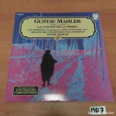 Discos de vinilo: GUSTAV MAHLER. Lote 194219312