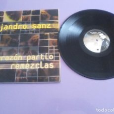 Discos de vinilo: GENIAL MAXI. ALEJANDRO SANZ - CORAZÓN PARTIO - REMEZCLAS. MADE IN GERMANY .WARNER MUSIC 3984 23094. Lote 194219645