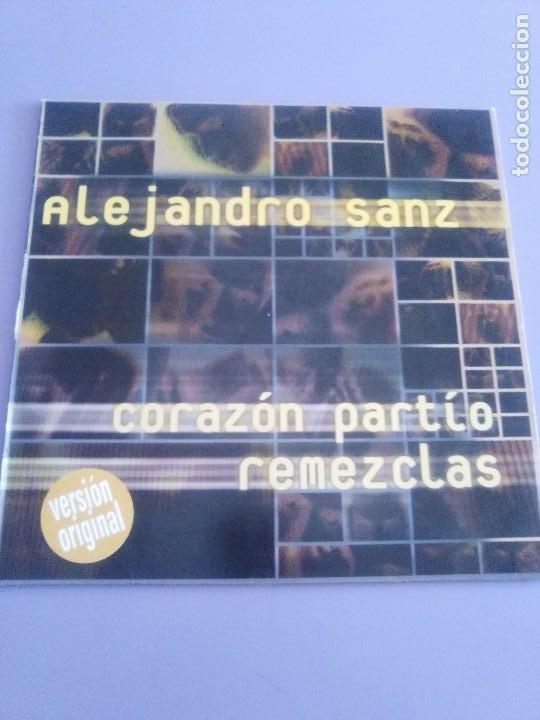 Discos de vinilo: GENIAL MAXI. ALEJANDRO SANZ - CORAZÓN PARTIO - REMEZCLAS. MADE IN GERMANY .WARNER MUSIC 3984 23094 - Foto 2 - 194219645