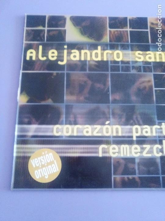 Discos de vinilo: GENIAL MAXI. ALEJANDRO SANZ - CORAZÓN PARTIO - REMEZCLAS. MADE IN GERMANY .WARNER MUSIC 3984 23094 - Foto 3 - 194219645