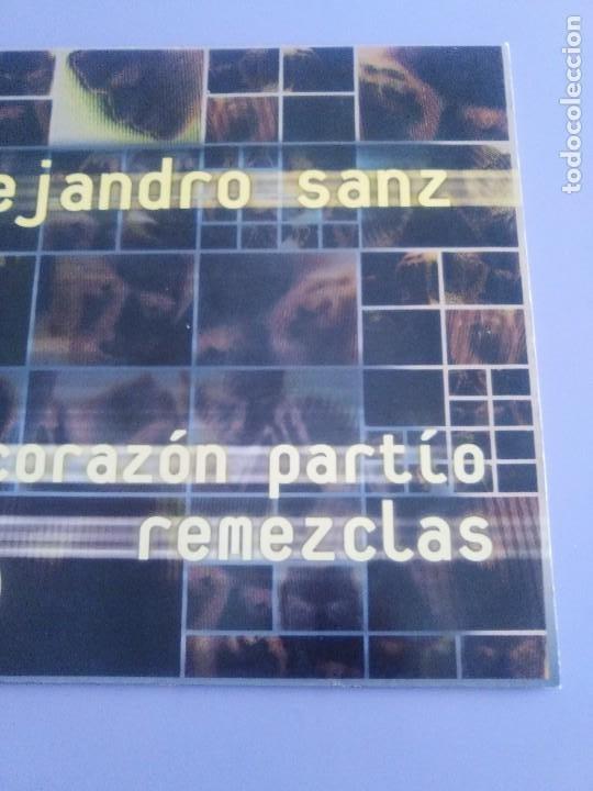 Discos de vinilo: GENIAL MAXI. ALEJANDRO SANZ - CORAZÓN PARTIO - REMEZCLAS. MADE IN GERMANY .WARNER MUSIC 3984 23094 - Foto 4 - 194219645
