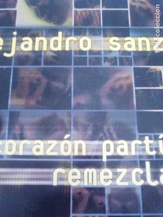 Discos de vinilo: GENIAL MAXI. ALEJANDRO SANZ - CORAZÓN PARTIO - REMEZCLAS. MADE IN GERMANY .WARNER MUSIC 3984 23094 - Foto 6 - 194219645