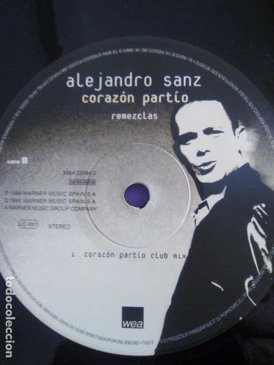 Discos de vinilo: GENIAL MAXI. ALEJANDRO SANZ - CORAZÓN PARTIO - REMEZCLAS. MADE IN GERMANY .WARNER MUSIC 3984 23094 - Foto 13 - 194219645
