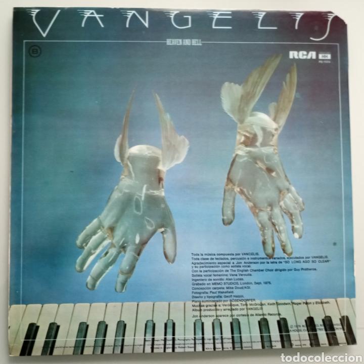Discos de vinilo: Vangelis - Heaven and Hell - vinilo - Foto 2 - 194220083