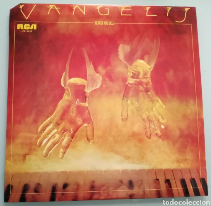 VANGELIS - HEAVEN AND HELL - VINILO (Música - Discos - LP Vinilo - Pop - Rock - New Wave Extranjero de los 80)