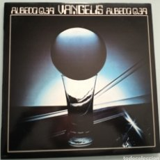 Discos de vinilo: VANGELIS - ALBEDO 0.39 - VINILO. Lote 194220468