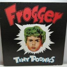 Discos de vinilo: FROGGER, TINY POONKS (SUBTERFUGE). Lote 194220476