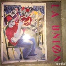 Discos de vinilo: LA UNIÓN: EL MALDITO VIENTO. Lote 194220733
