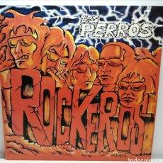 Discos de vinilo: LOS PERROS, ROCKEROS (MUNSTER) ENCARTE. Lote 194220742