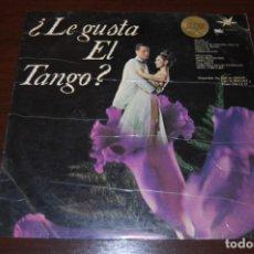 Discos de vinilo: ¿LE GUSTA EL TANGO?. Lote 194220853