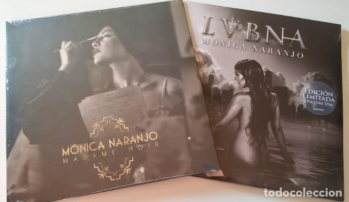 MÓNICA NARANJO 'MADAME NOIR' + 'LVBNA' 3 LPS VINILOS NUEVOS PRECINTADOS EDICIÓN LIMITADA (Música - Discos - LP Vinilo - Solistas Españoles de los 70 a la actualidad)