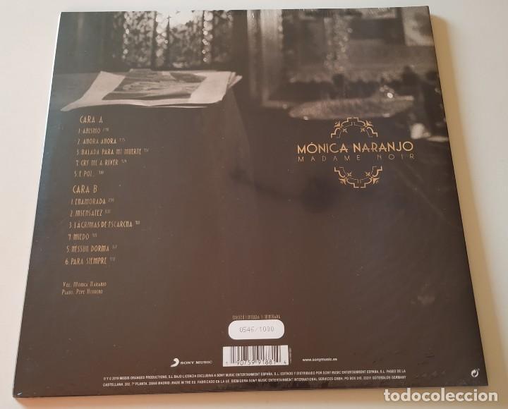 Discos de vinilo: MÓNICA NARANJO Madame Noir + LVBNA 3 LPs vinilos NUEVOS Precintados edición limitada - Foto 3 - 194221246