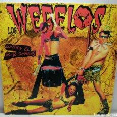 Discos de vinilo: LOS WEBELOS, CONTRA EL HOMO SAPIENS (MUNSTER). Lote 194221350
