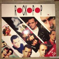 Discos de vinilo: ROCKOPOP: VOL1 CONTIENE 2 LPS. Lote 194222018