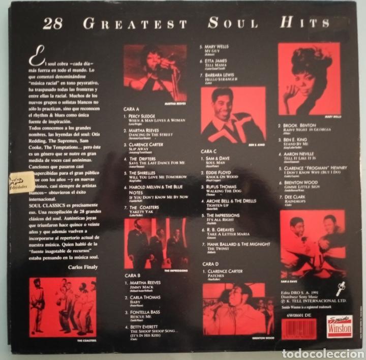 Discos de vinilo: Soul classic - 2 LPs vinilo - Foto 3 - 194222897
