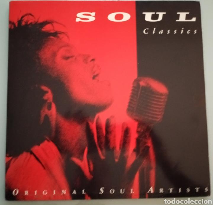 SOUL CLASSIC - 2 LPS VINILO (Música - Discos - LP Vinilo - Funk, Soul y Black Music)