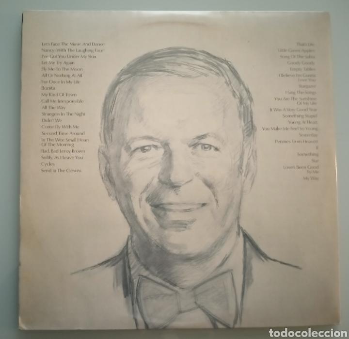 Discos de vinilo: Frank Sinatra - 40 canciones de la vida de un hombre- 2 LPs vinilo - Foto 3 - 194223817