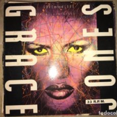 Discos de vinilo: GRACE JONES: LOVE ON TOP OF LOVE. Lote 194223905