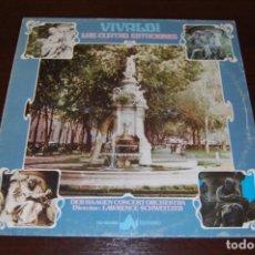 Discos de vinilo: VIVALDI -LAS 4 ESTACIONES. Lote 194224575