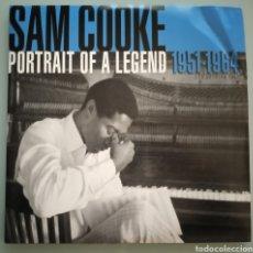 Discos de vinilo: SAM COOKE - PORTRAIT OF A LEGEND - 2 LPS VINILO. Lote 194224677