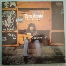Discos de vinilo: JOHN RENBOURN - FARO ANNIE - VINILO. Lote 194224911