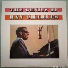 Discos de vinilo: THE GENIOUS OF RAY CHARLES - VINILO. Lote 194225130