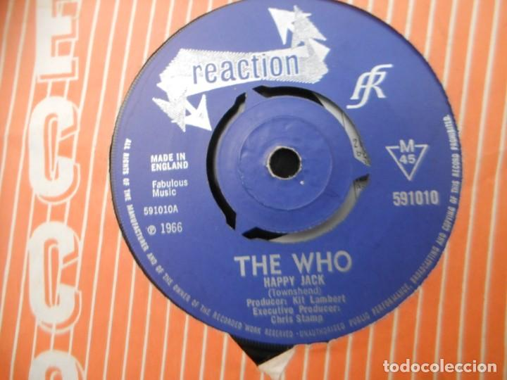 THE WHO - HAPPY JACK - I'VE BEEN AWAY (Música - Discos - Singles Vinilo - Pop - Rock - Extranjero de los 70)