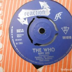 Discos de vinilo: THE WHO - HAPPY JACK - I'VE BEEN AWAY. Lote 194225143