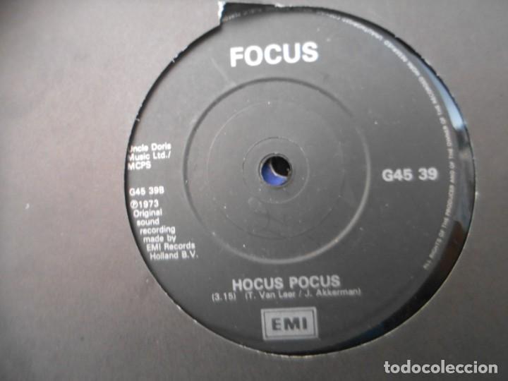 FOCUS - HOCUS POCUS - SYLVIA (Música - Discos - Singles Vinilo - Pop - Rock - Extranjero de los 70)