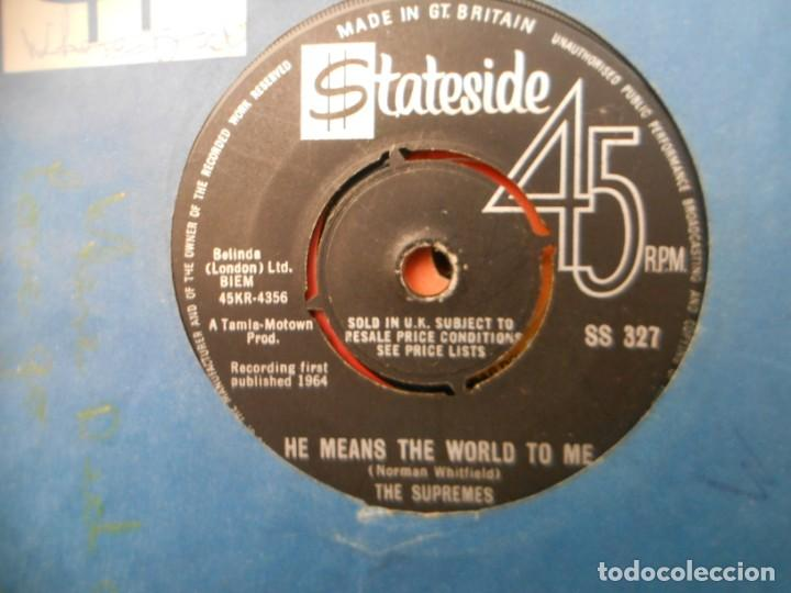 THE SUPREMES - WHERE DID OUR LOVE GO - HE MEANS THE WORLD TO ME (Música - Discos - Singles Vinilo - Funk, Soul y Black Music)