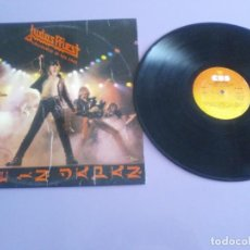 Discos de vinilo: JOYA GENIAL LP.JUDAS PRIEST - UNLEASHED IN THE EAST (LIVE IN JAPAN).AÑO 1979 SPAIN. SELLO CBS 83852. Lote 194226035