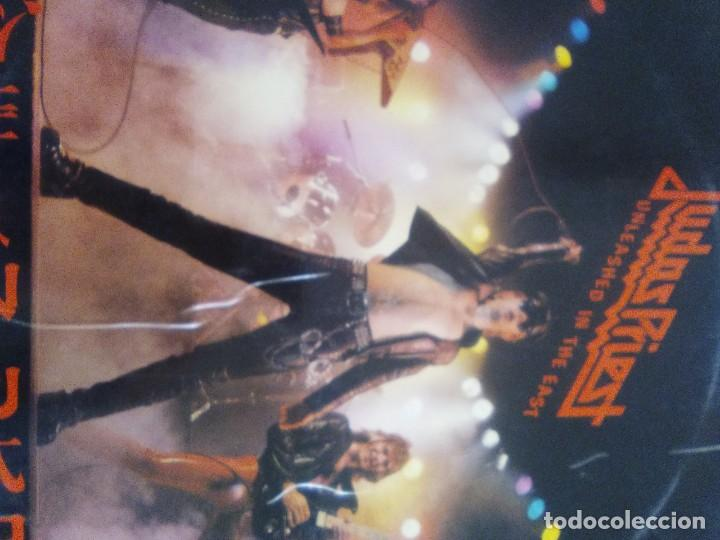 Discos de vinilo: JOYA GENIAL LP.JUDAS PRIEST - UNLEASHED IN THE EAST (LIVE IN JAPAN).AÑO 1979 SPAIN. SELLO CBS 83852 - Foto 2 - 194226035