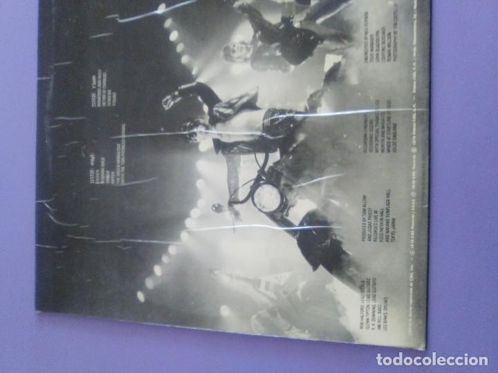 Discos de vinilo: JOYA GENIAL LP.JUDAS PRIEST - UNLEASHED IN THE EAST (LIVE IN JAPAN).AÑO 1979 SPAIN. SELLO CBS 83852 - Foto 7 - 194226035