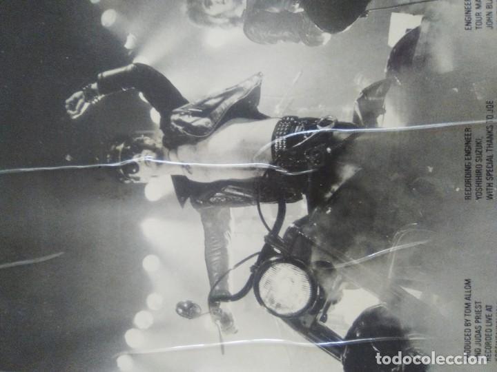 Discos de vinilo: JOYA GENIAL LP.JUDAS PRIEST - UNLEASHED IN THE EAST (LIVE IN JAPAN).AÑO 1979 SPAIN. SELLO CBS 83852 - Foto 11 - 194226035