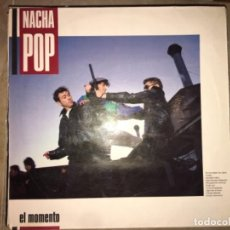 Discos de vinilo: NACHA POP: EL MOMENTO. Lote 194226048