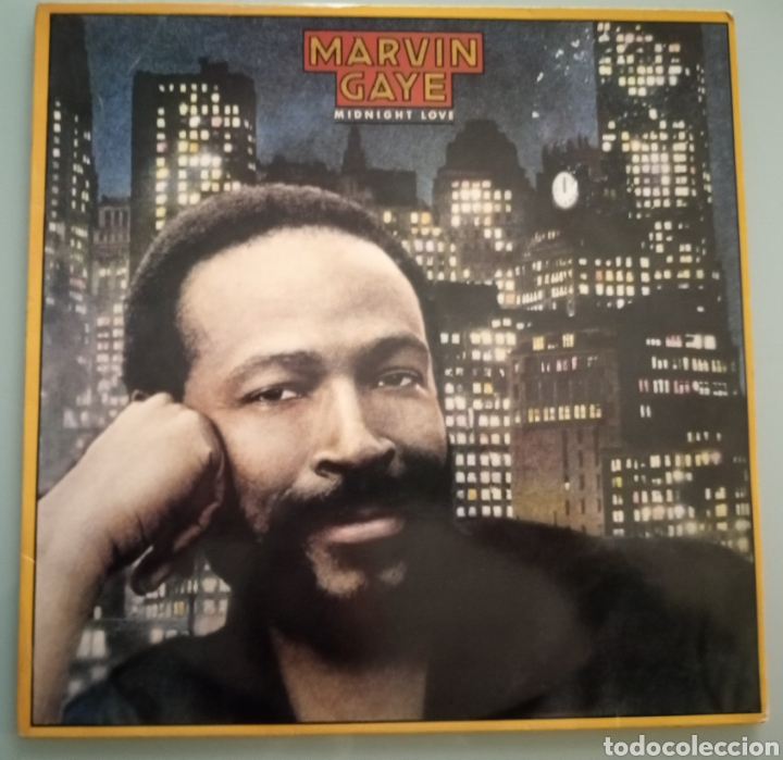 MARVIN GAYE - MIDNIGHT LOVE - VINILO (Música - Discos - LP Vinilo - Funk, Soul y Black Music)