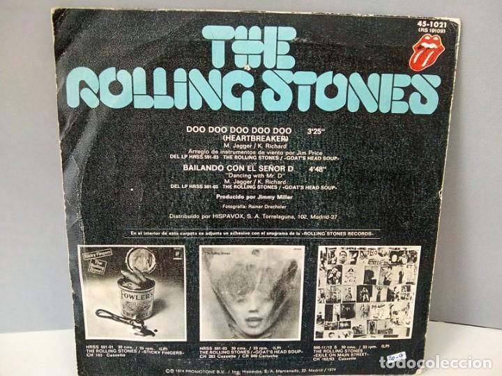 Discos de vinilo: THE ROLLING STONES.- HEARTBREAKER....... 45 rpm - Foto 2 - 194226608