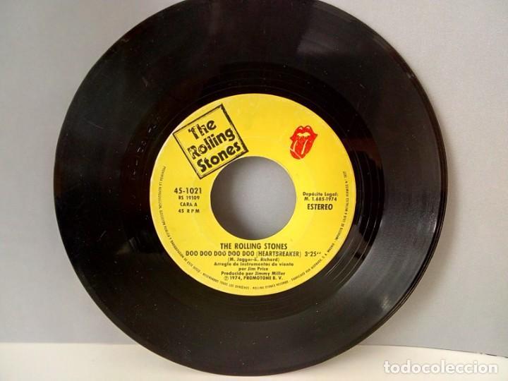 Discos de vinilo: THE ROLLING STONES.- HEARTBREAKER....... 45 rpm - Foto 3 - 194226608