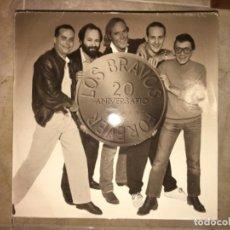 Discos de vinilo: LOS BRAVOS: 20 ANIVERSARIO. Lote 194226891