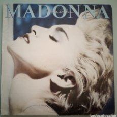Discos de vinilo: MADONNA - TRUE BLUE - VINILO. Lote 194226978