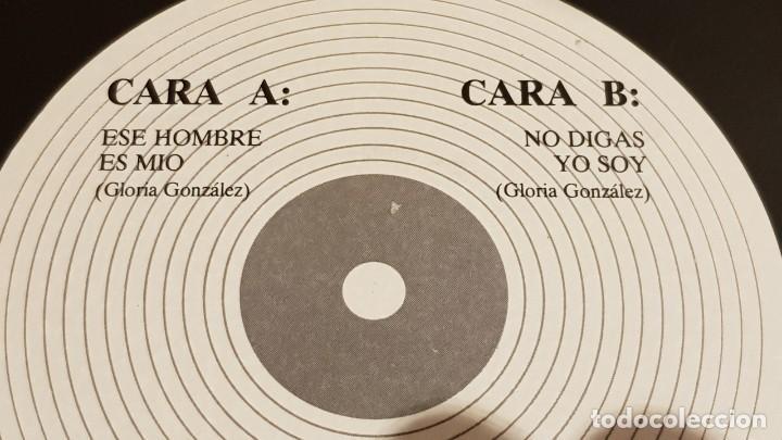 Discos de vinilo: FIRMADO !! GLORIA DE MÁLAGA / SINGLE - 555 EDIC. MUSIC - 1988 / VINILO DE LUJO. ****/**** - Foto 4 - 194227138